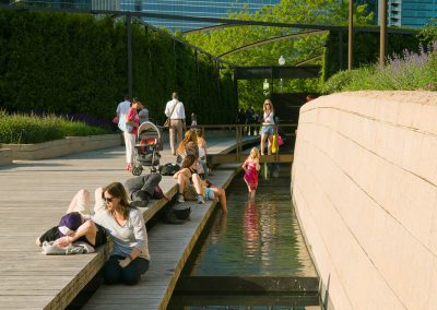 Lurie Garden at Millennium Park, Chicago