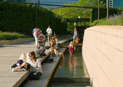 Lurie Garden at Millennium Park, Chicago